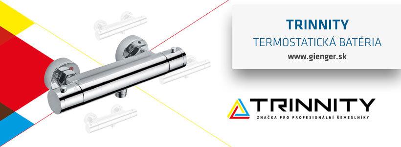 INFO gienger trinnity termostaticka bateria